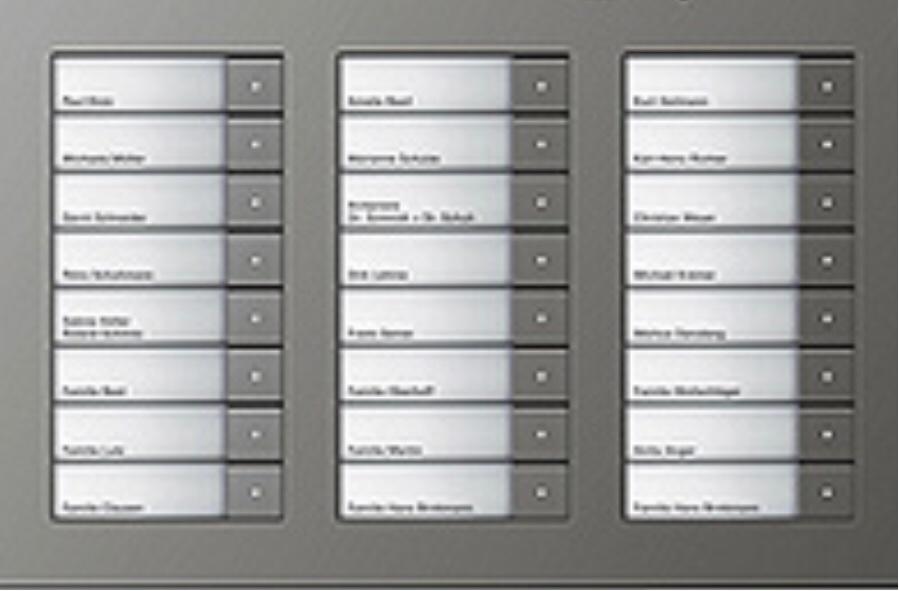 In Wenen moeten vanwege de AVG 220.000 naamplaatjes op belborden in flats worden vervangen