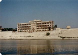Alice Riis gennem Suez kanalen