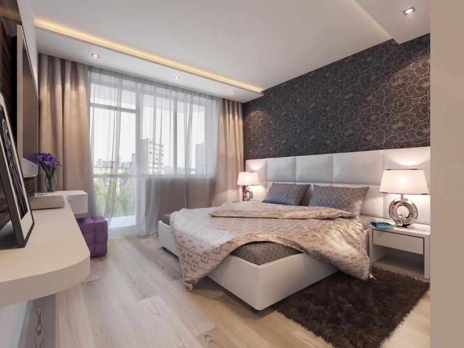 спальня интерьер