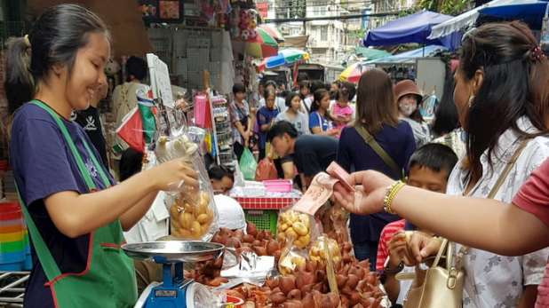 Przedsiębiorca, Chinatown, Bangkok