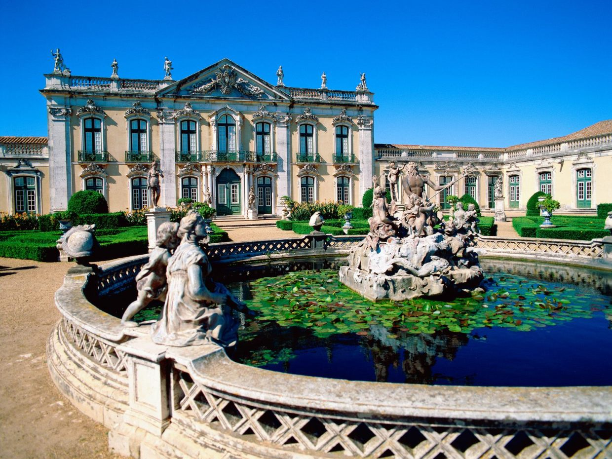 Image result for Queluz National Palace in Lisbon, Portugal