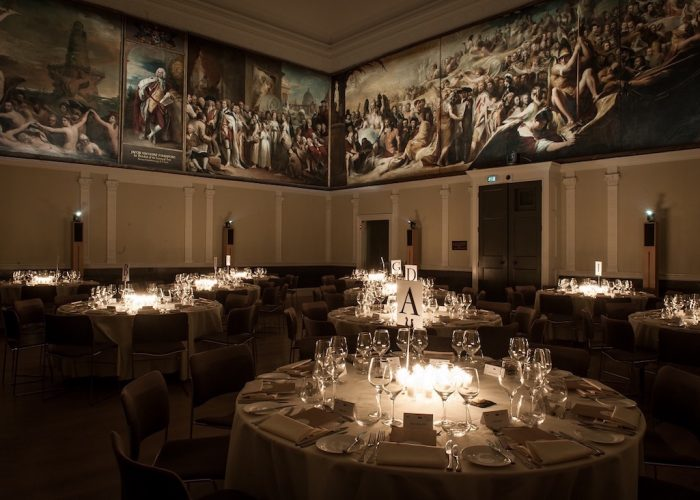 Luxury Private Dining Rooms At RSA House