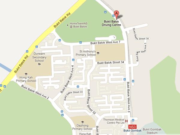 Bukit Batok Driving Centre