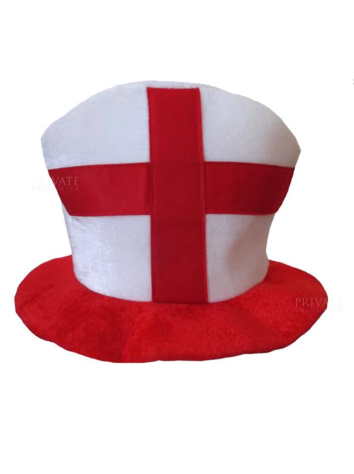 0582820f Red & White St. George English, England Hat Fancy Dress Accessory ...