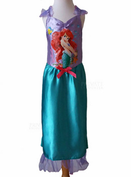 Girls Ariel Disney Princess Fancy Dress Costume, World Book Day Age 7-8 years