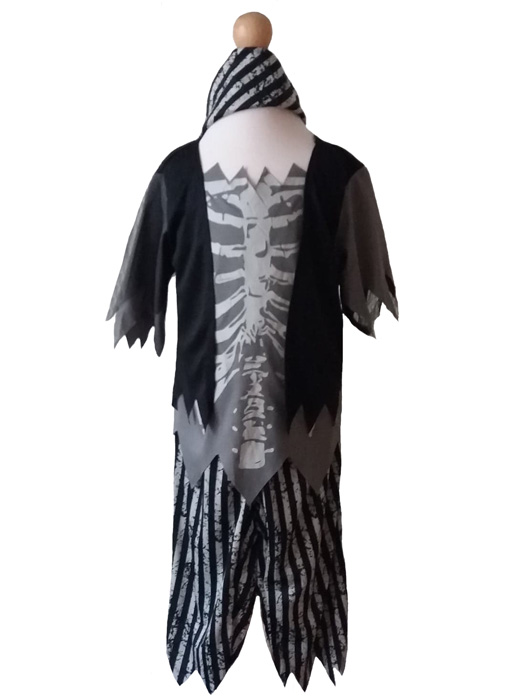 Childs Zombie Pirate Fancy Dress Costume, Buccaneer, Halloween Age 7-8 years