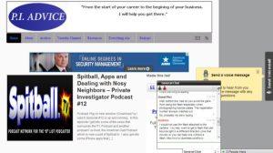 private investigator chat