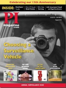 My Article Made the Cover of PI Magazine