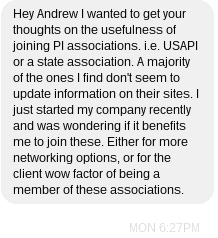 Private Investigator Associations
