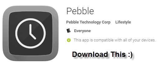 Pebble App to Download