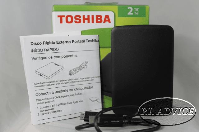 Toshiba 2 TB 3.0 USB External Hard Drive