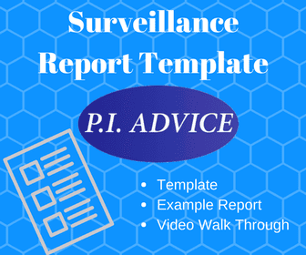 Terms And Conditions Private Investigator Advice - Private investigator surveillance report template
