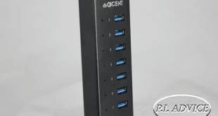 qicent 7 port usb hub