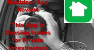 Nextdoor App and Private Investigators