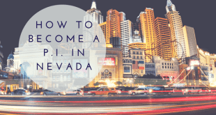 How to Become a Private Investigator in Nevada