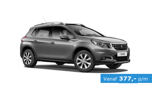 peugeot 2008 active private lease