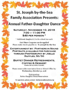 Father Daughter Flyer 2018