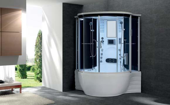 combine baignoire douche un 2 en 1