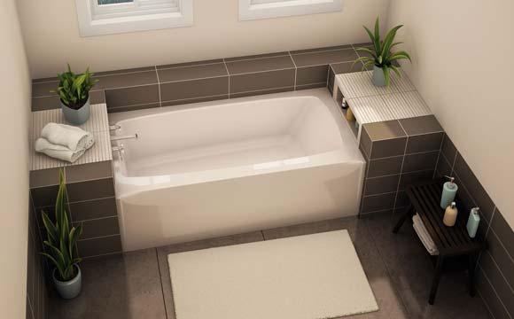 installatation d une baignoire bien