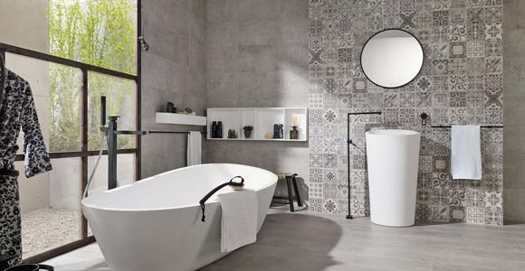 revetement mural pour une salle de bain
