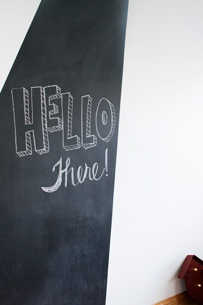Merge Function and Design with a Chalkboard Wall!