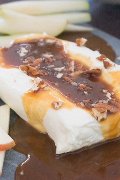 Sea Salt Caramel Cream Cheese Dip