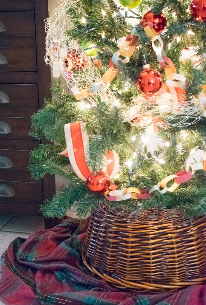 Make It Yourself! Christmas Tree Basket