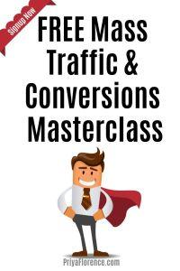 FREE Mass Traffic & Conversions Masterclass