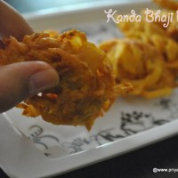 Kanda bhaji recipe , onion pakora recipe | how to make kanda bhaji
