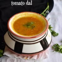 tomato dal recipe | how to  make tomato dal, andhra tomato pappu recipe