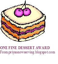 Western Desserts Winners and Awards