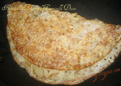 Flaxseed Amaranth Vermicelli Dosais/Crepes