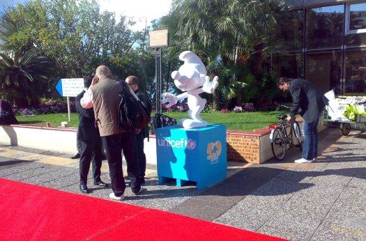 Schtroumpfs au MIPTV à Cannes