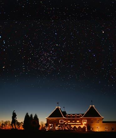 Chateau Elan at Christmas