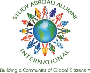 Study Abroad Alumni International Logo & Tagline