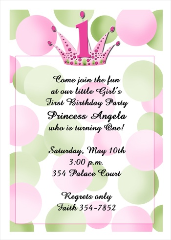 Birthday Invitation Cards For Parties
