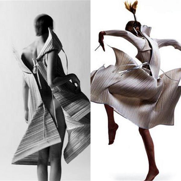 Japanese Fashion Designer Issey Miyake