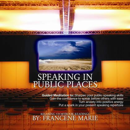 Speaking in Public Places Audio Media Tool