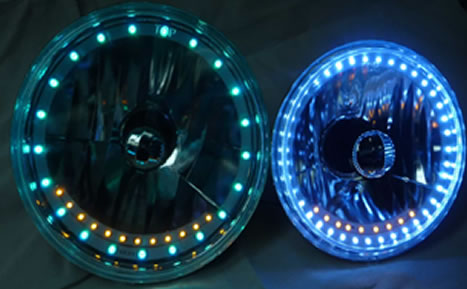 Halo Headlights With Turn Signals Debut At Good Guys Show