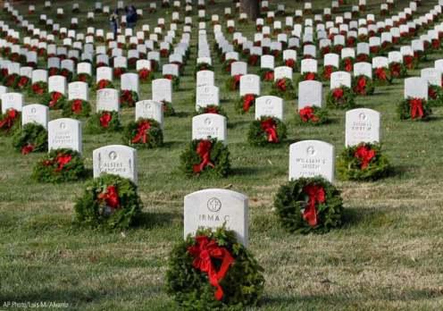 Image result for wreaths acaross america