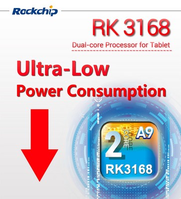 Ultra LOW Power Processor, RK3168 is Coming!