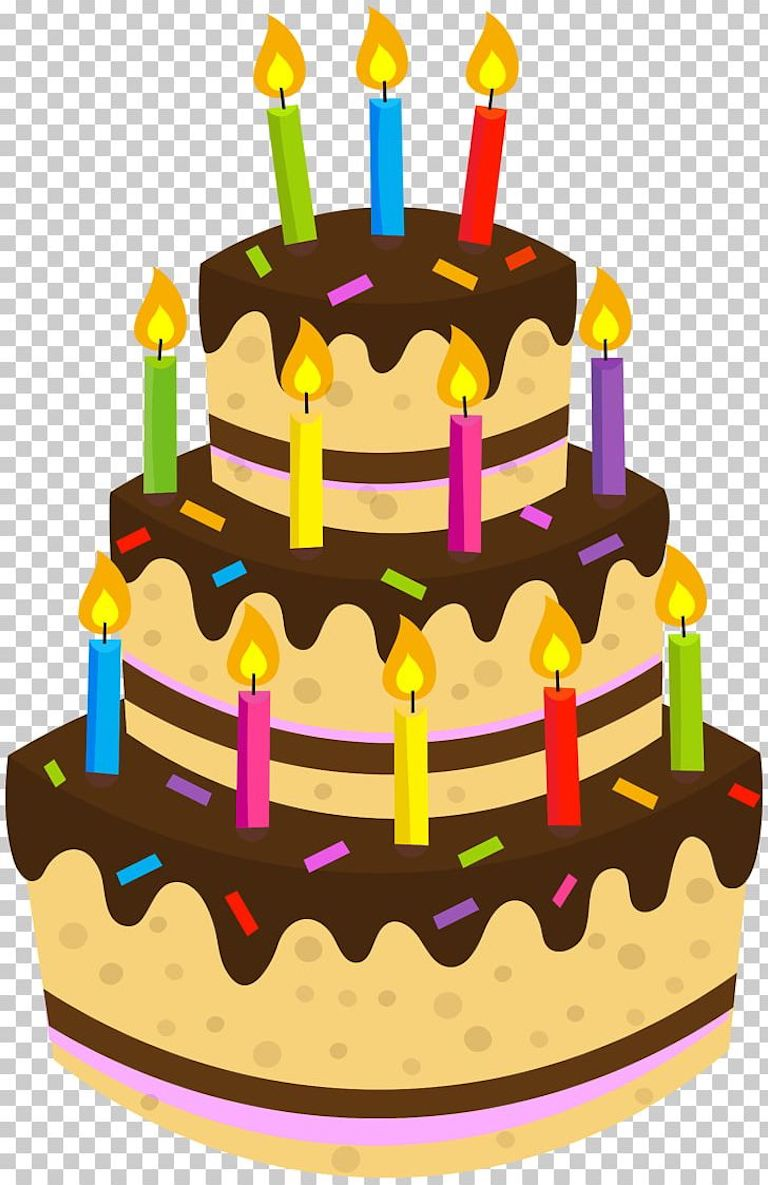 Birthday Cake Clipart Coloring And Other Free Printable Designs