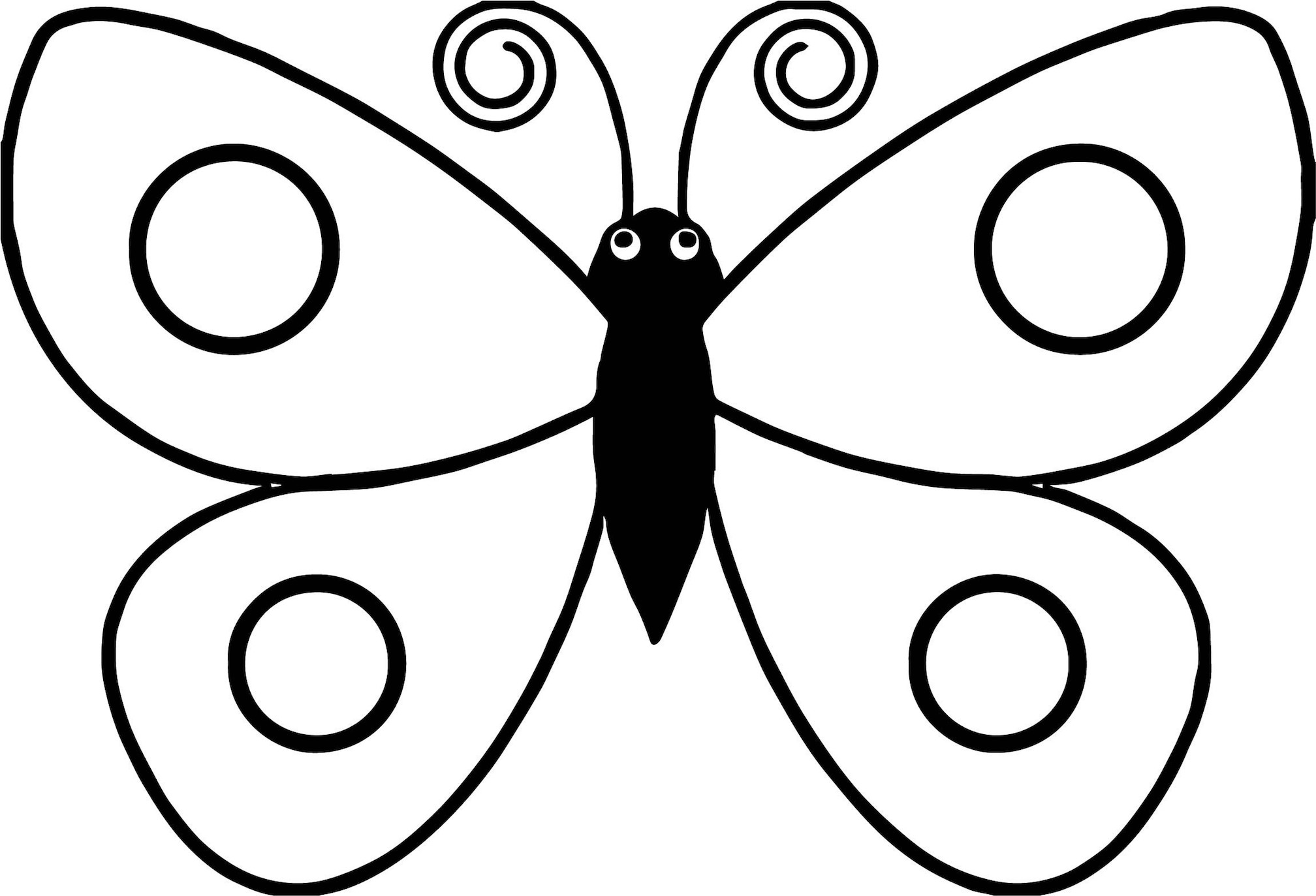 Butterfly Coloring Pages For Kids And Other Top 10