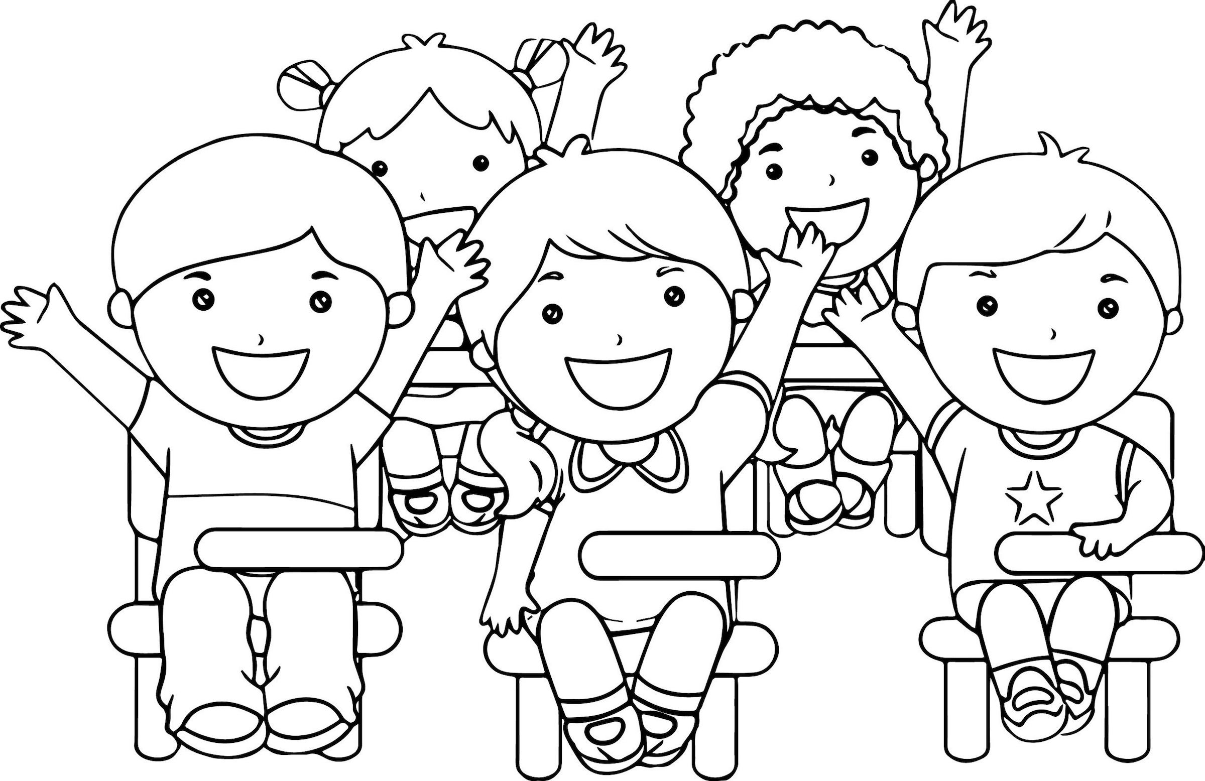 Classroom Clipart And Dozens More Creative Coloring Themes