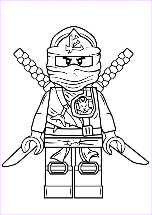 Ninjago Coloring Pages And Other Top 25 Themed Coloring Challenges