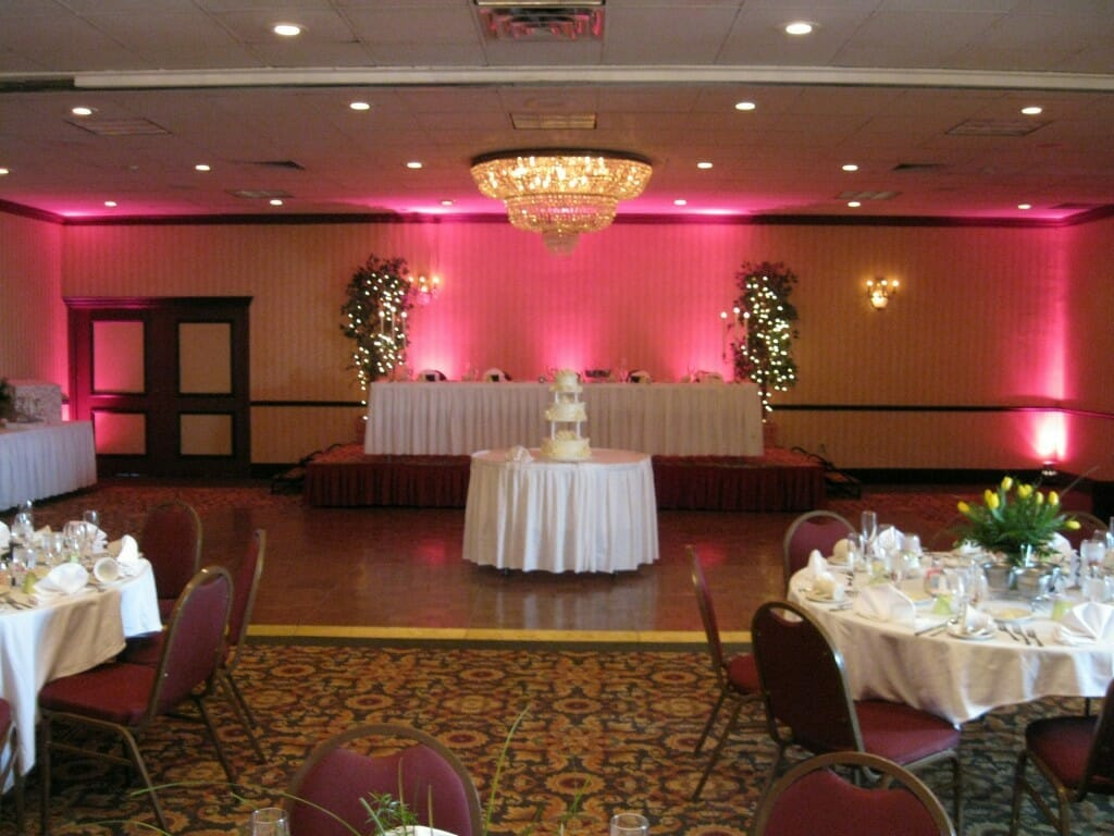Wisconsin Wedding Uplighting - Pro Sound & Light Show DJ