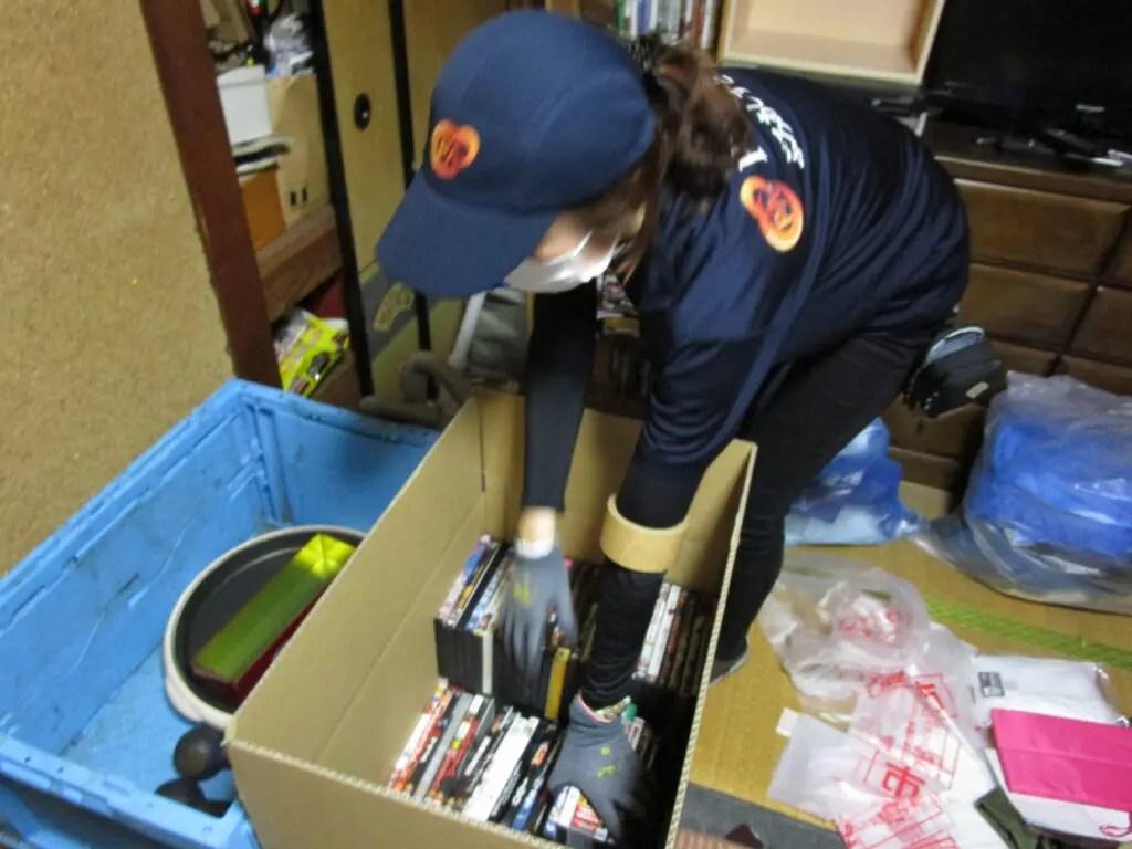 大阪市福島区にて、娘様よりお父様のご遺品整理のご依頼を頂きましたので、作業を実施して参りました。