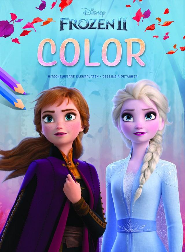 Disney - Bloc de coloriage - Frozen 22