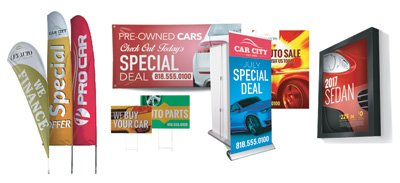 Automotive Signs, Signs for Automotive industry