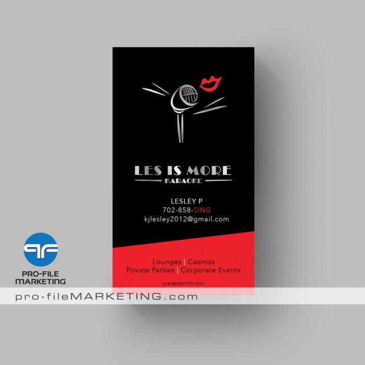 Las vegas business card printing company pro file marketing colourmoves